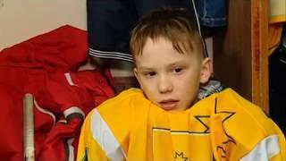 17 04 2018 Юные хоккеисты из села Селты получили в подарок полную спортивную экипировку
