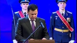 В преддверии Дня защитника Отечества Дмитрий Миронов вручил грамоты отличившимся офицерам