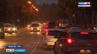 Автоинспекторы и волонтеры напомнили йошкаролинцам правила перехода проезжей части