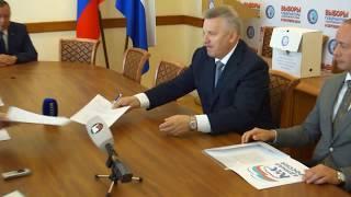 Вячеслав Шпорт подал документы для регистрации кандидатом в Губернаторы Хабаровского края