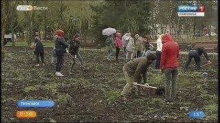 В Пятигорске появилась аллея памяти погибших в Кемерове