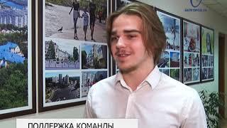 Мэр города Константин Полежаев встретился с молодёжным хоккейным клубом «Белгород»