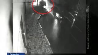Ночное ДТП в Ростове: столкнулись две машины, одна врезалась в столб
