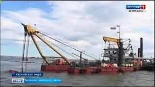 В этом году со дна Волго-Каспийского канала поднимут более пяти миллионов тонн грунта