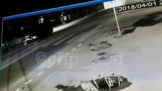 Таксист сбежал с места ДТП. Краснодар