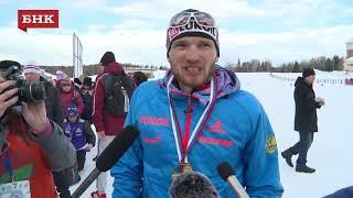 Артем Мальцев - Чемпионат России по лыжным гонкам 2018 года