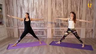 Заряд бодрости. Утренняя практика с Ириной Хакимовой.  Занятие #3