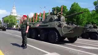 Парад Победы в Воронеже 2018