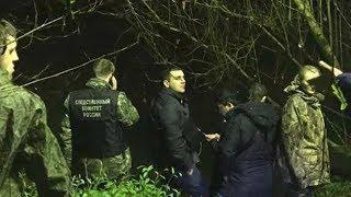 Отчим показал следователям место, где спрятал тело убитой девочки