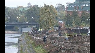 В Иванове идет работа по благоустройству набережной в районе Соковского моста