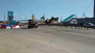 Пешеходный мост рухнул на Ярославском шоссе под Москвой