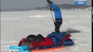 Теодор Йохансен из Норвегии приехал на Байкал, чтобы пересечь озеро с юга на север