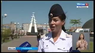 Вблизи пешеходных переходов в Астрахани стали появляться предупреждающие надписи