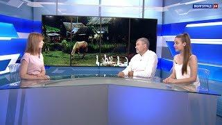 Спектакль о деревне. Интервью. Андрей Прошаков, Марина Карпова