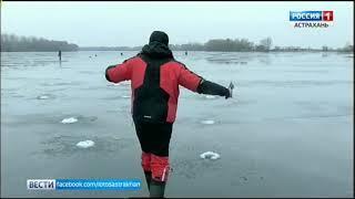 Игорь Беляков продолжает охоту на рыбу