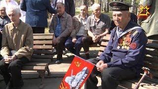 С наступающим Днем Победы поздравили и пациентов республиканского госпиталя для ветеранов войн.