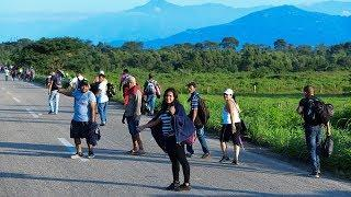 «Многие в Мексике — ксенофобы». Включение журналиста RTVI из города, где проходил караван мигрантов