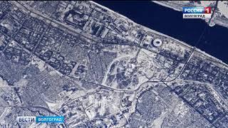 Волгоград глазами космонавта МКС