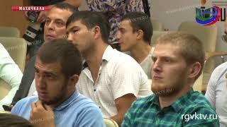 Известные спортсмены и тренеры Дагестана провели встречу с молодежью