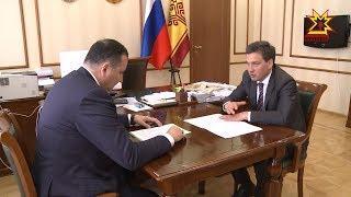 Председатель Кабинета Министров Чувашии Иван Моторин провёл рабочую встречу