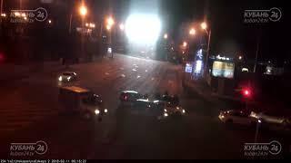 ДТП на ул. Ялтинская и ул. Уральская 10.02.2018