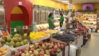 """Экзотические фрукты от """"Зеленой лавки"""" помогут пережить зиму биробиджанцам(РИА Биробиджан)"""