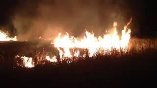 Пожар в Оренбурге 29 04 2018