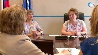 Елена Писарева провела прием граждан по личным вопросам