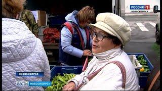 Овощи по ценам ниже рыночных новосибирцы покупают на осенних ярмарках