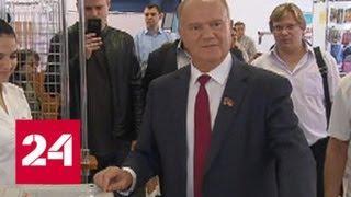Выборы мэра Москвы: открылись все участки, нарушений не зафиксировано - Россия 24