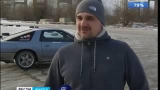 Дрифтеры облюбовали Старокузьмихинскую развязку в Иркутске