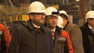 Бизнес-омбудсмен Борис Титов дал оценку заводам Невинномысска.
