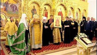 Жителям Когалыма патриарх Московский и всея Руси преподнес ковчег с мощами мученицы Татианы