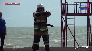 В Дагестане прошли соревнования по пожарному кроссфиту