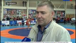 Около 100 спортсменов собрал открытый турнир по вольной борьбе