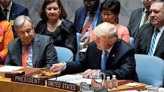 Как в мире отреагировали на заявления Дональда Трампа в Совете безопасности ООН?