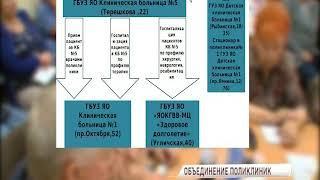 Несколько ярославских поликлиник объединят в единый конгломерат
