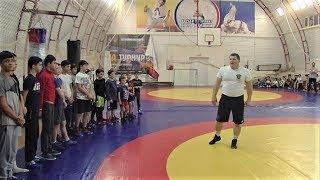 Чемпион мира по вольной борьбе провёл мастер-класс в Лангепасе