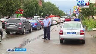 Смоленские автоинспекторы отмечают профессиональный праздник
