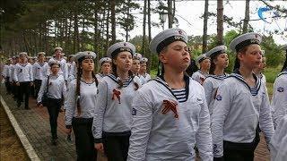 Новгородские юные моряки вернулись со всероссийского слета в Артеке