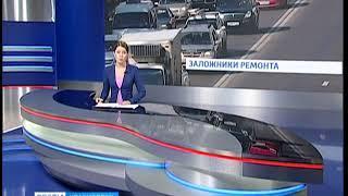 До 1 мая закрывают для движения транспорта участок улицы Луговая в Красноярске