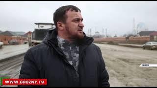 Рамзан Кадыров проинспектировал строительные работы в Шали