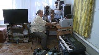 Дубовский пенсионер-баянист прославился на всю страну