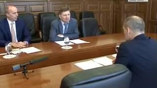 Встреча губернатора с представителями ВЭБ