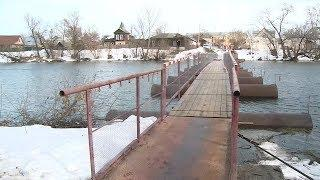 Пензенский остров Пески лишится одного из двух мостов