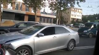 ДТП Симферополь перекрёсток Гагарина и Гайдара 29.08.2018