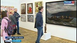 28 марийских художников представили свои работы на выставке «Большая Волга»