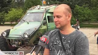 Мощи, тюнинга и драйва добавили арт-проекту «Вечерний Биробиджан» автоклубы ЕАО(РИА Биробиджан)