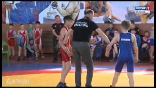 В Горно-Алтайске прошли соревнования по греко-римской борьбе