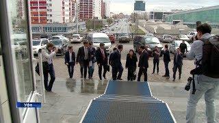Делегация КНР посетила здание уфимского телецентра